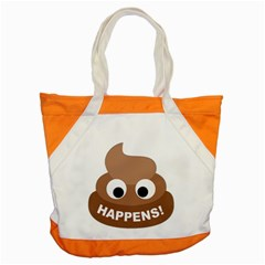 Poo Happens Accent Tote Bag