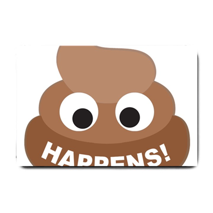 Poo Happens Small Doormat