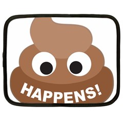 Poo Happens Netbook Case (large)