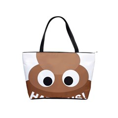 Poo Happens Shoulder Handbags