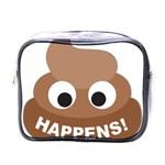 Poo Happens Mini Toiletries Bags Front