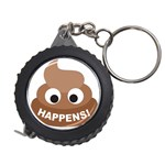 Poo Happens Measuring Tape Front