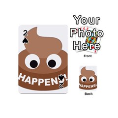 Poo Happens Playing Cards 54 (mini)