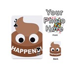 Poo Happens Playing Cards 54 (Mini)  Front - ClubJ