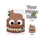 Poo Happens Playing Cards 54 (Mini)  Front - Spade8