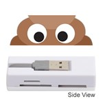 Poo Happens Memory Card Reader (Stick)  Front