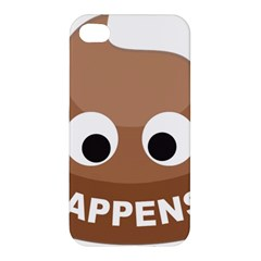 Poo Happens Apple Iphone 4/4s Hardshell Case