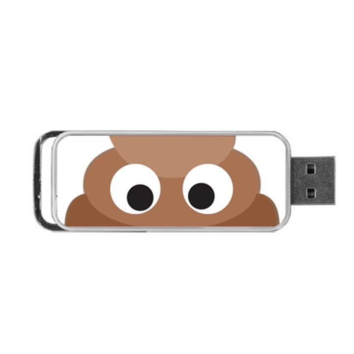 Poo Happens Portable USB Flash (Two Sides)