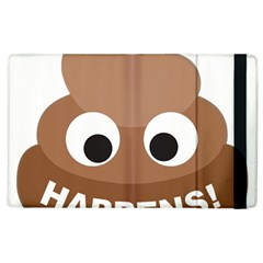 Poo Happens Apple Ipad 2 Flip Case