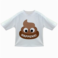 Poo Happens Infant/toddler T Shirts