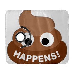 Poo Happens Galaxy S3 (flip/folio) by Vitalitee
