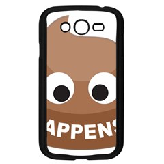 Poo Happens Samsung Galaxy Grand Duos I9082 Case (black)