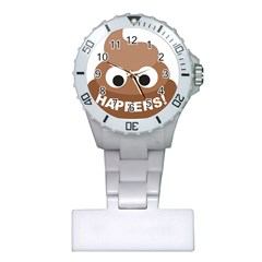 Poo Happens Plastic Nurses Watch