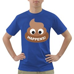 Poo Happens Dark T Shirt