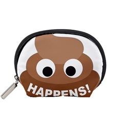 Poo Happens Accessory Pouches (small)  by Vitalitee