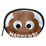 Poo Happens Accessory Pouches (Medium)  Front