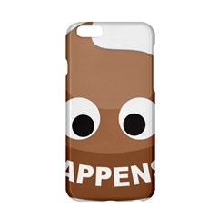 Poo Happens Apple Iphone 6/6s Hardshell Case by Vitalitee