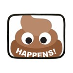 Poo Happens Netbook Case (Small)  Front