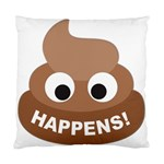 Poo Happens Standard Cushion Case (One Side) Front