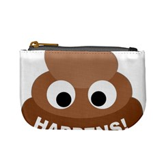 Poo Happens Mini Coin Purses