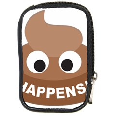 Poo Happens Compact Camera Cases by Vitalitee