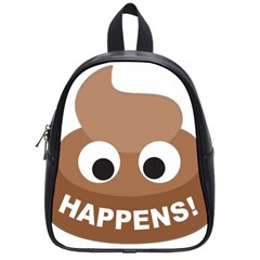 Poo Happens School Bag (small)