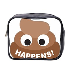 Poo Happens Mini Toiletries Bag 2 Side