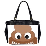 Poo Happens Office Handbags (2 Sides)  Back