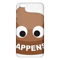 Poo Happens Iphone 6 Plus/6s Plus Tpu Case