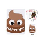 Poo Happens Playing Cards (Mini)  Back