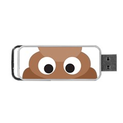 Poo Happens Portable Usb Flash (one Side)