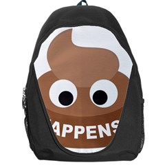 Poo Happens Backpack Bag
