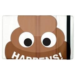 Poo Happens Apple Ipad 2 Flip Case