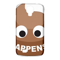 Poo Happens Samsung Galaxy S4 Classic Hardshell Case (pc+silicone)
