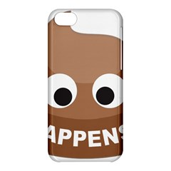 Poo Happens Apple Iphone 5c Hardshell Case