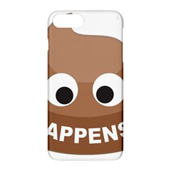 Poo Happens Apple Iphone 7 Plus Hardshell Case by Vitalitee