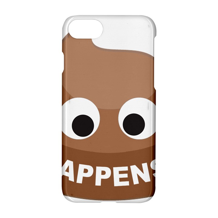 Poo Happens Apple iPhone 7 Hardshell Case