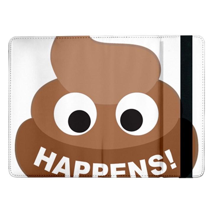 Poo Happens Samsung Galaxy Tab Pro 12.2  Flip Case