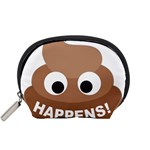 Poo Happens Accessory Pouches (Small)  Front