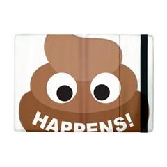 Poo Happens Ipad Mini 2 Flip Cases