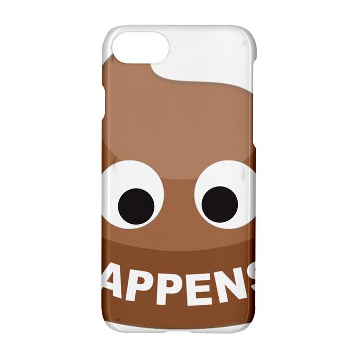 Poo Happens Apple iPhone 8 Hardshell Case