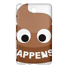 Poo Happens Samsung Galaxy Tab 4 (7 ) Hardshell Case
