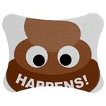 Poo Happens Jigsaw Puzzle Photo Stand (Bow) Front