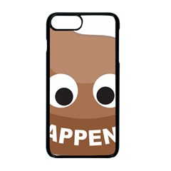 Poo Happens Apple Iphone 7 Plus Seamless Case (black)
