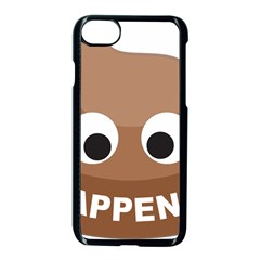 Poo Happens Apple Iphone 7 Seamless Case (black) by Vitalitee