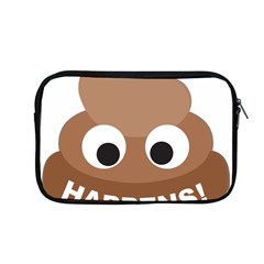 Poo Happens Apple Macbook Pro 13  Zipper Case by Vitalitee