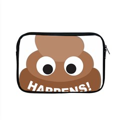 Poo Happens Apple Macbook Pro 15  Zipper Case