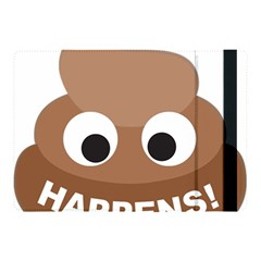 Poo Happens Apple Ipad Pro 10 5   Flip Case