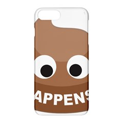 Poo Happens Apple Iphone 8 Plus Hardshell Case by Vitalitee