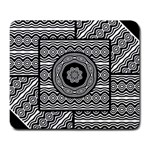 Wavy Panels Large Mousepads
